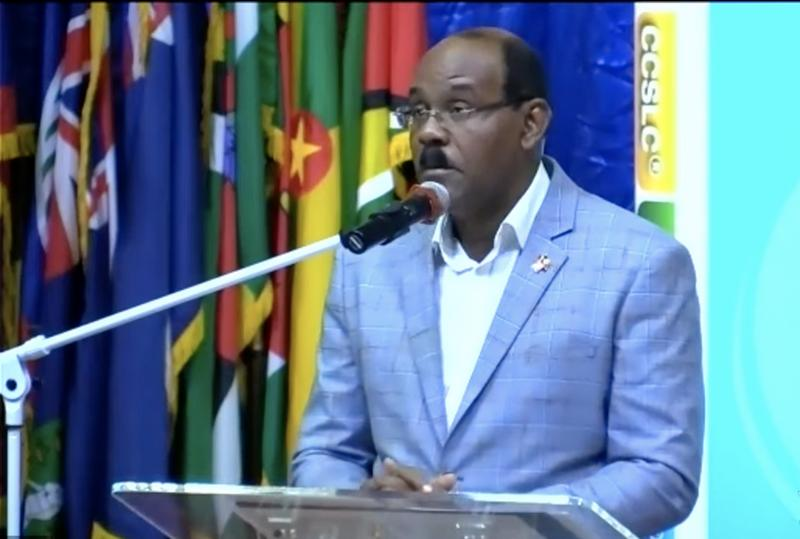 Prime Minister Gaston Browne calls on the region's young scholars to embrace scholarship