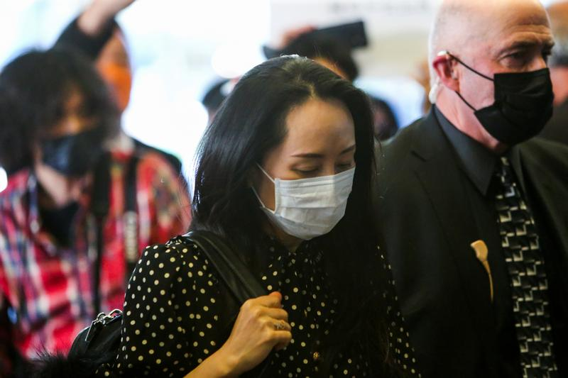 Canadian court discharges Huawei CFO Meng Wanzhou as U.S. extradition case ends